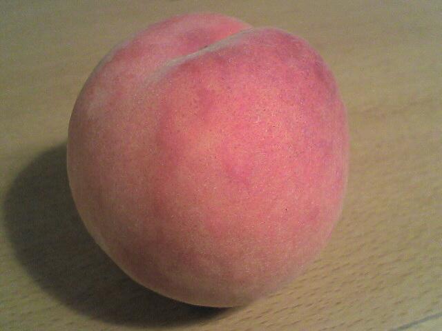 桃ではありません。