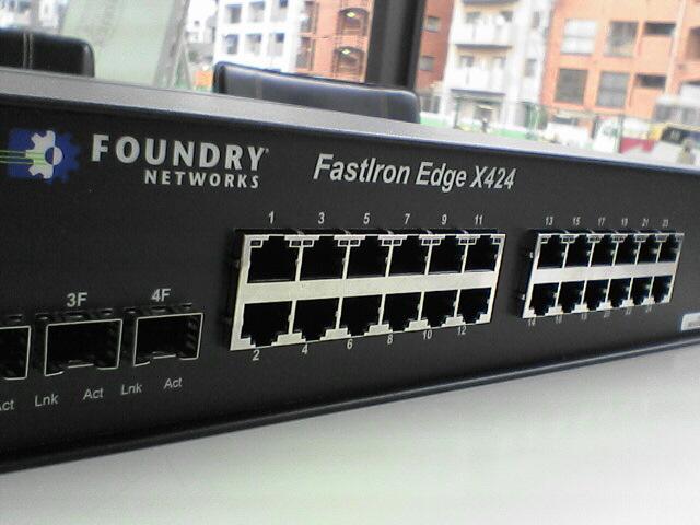 FOUNDARY FastIron Edge X424